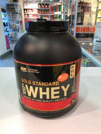 OPTIMUM NUTRITION Whey Gold Standard - 2270g- białko Muscle Power