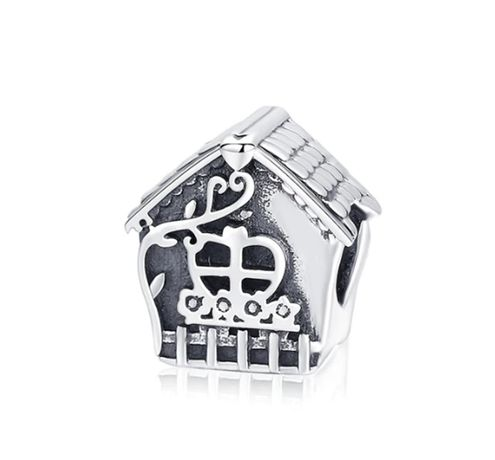 Charms PANDORA srebro 925 dom domek rodzina