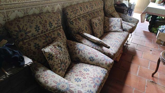 Sofás Vintage 3+1+1