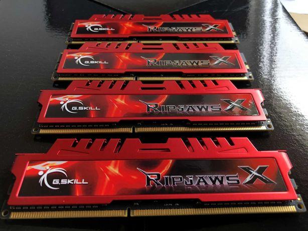 16GB DDR3 G.SKILL Ripjaws X 1600MHZ (4x4)
