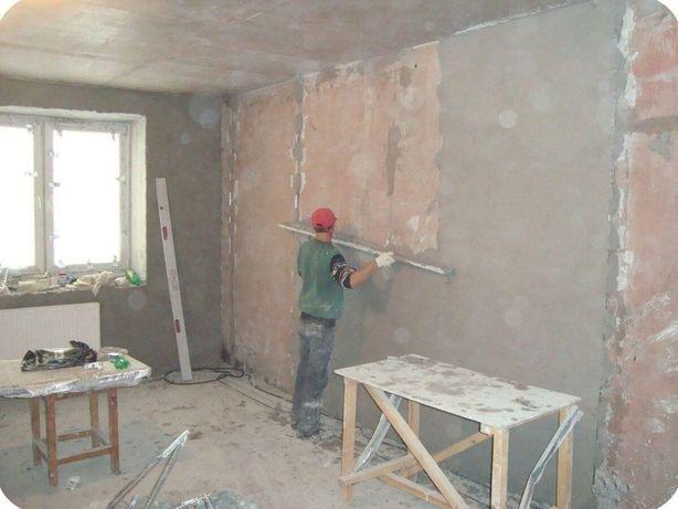 Выполняю ремонт (штукатурка, шпаклевка стен, гипсокартон).