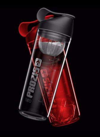 Novo e selado Shaker Neo Mixer Bottle Smoke 600 ml