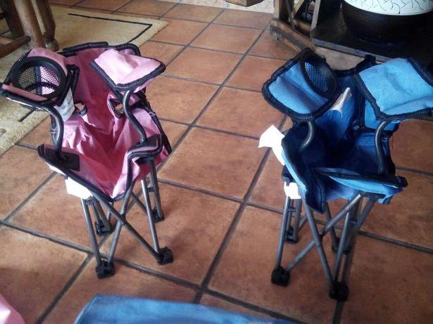 Vendo 2 cadeiras novas de criança
