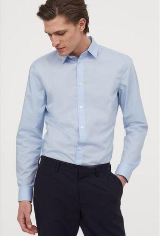 Koszula męska H&M Easy iron Slim Fit rozmiar L NOWA Z METKAMI!!!