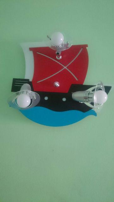 Kinkiety dziecięce(statek piracki i pirat)