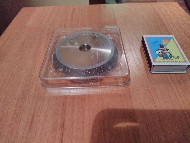 Круг диск алмазный шлифовально заточной 80*12*10 резцы пилы сверла