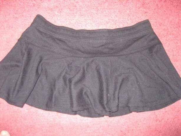 на девочку подростка короткая летняя юбка хлопок черная отличная супер