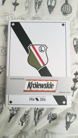 Księga Legii Warszawa na 100lecie nowa