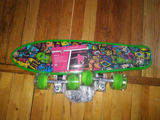 Скейтборд (пеніборд) MS 0749-6