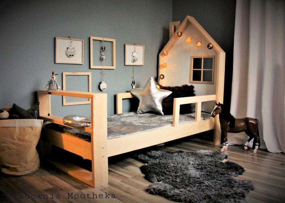 Łóżeczko domek drewniany Nature House Wejherowo - image 1