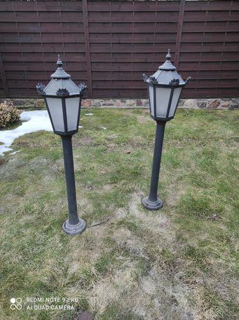 Lampy ogrodowe aluminiowe