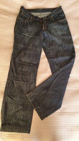 Spodnie motocyklowe jeansowe męskie Gareth rozm. L