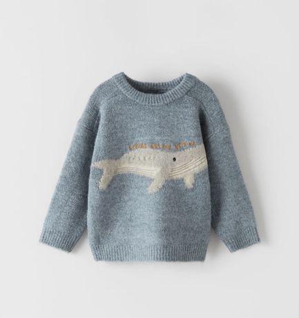 Sweterek ZARA rozm. 80
