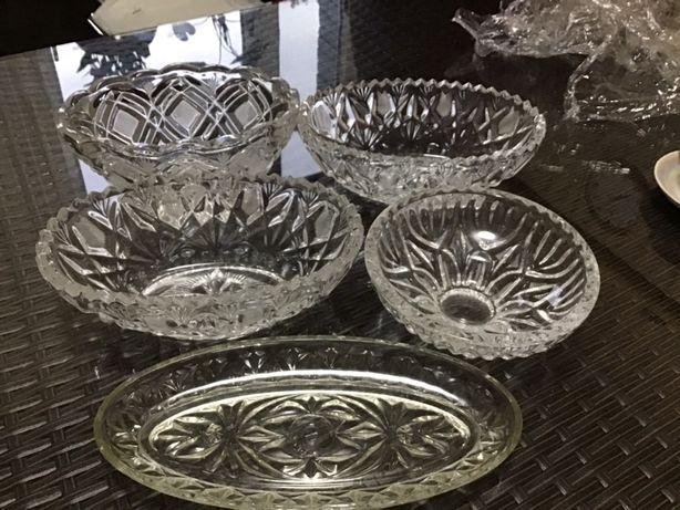 Продам хрустальные вазы 5 штук