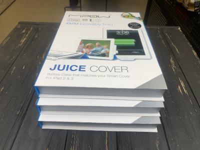 Чехол с аккумулятором Емкость 9000 мАч Juice Cover для iPad 2, 3