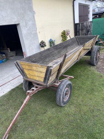 Wóz stalowy do ciagnika