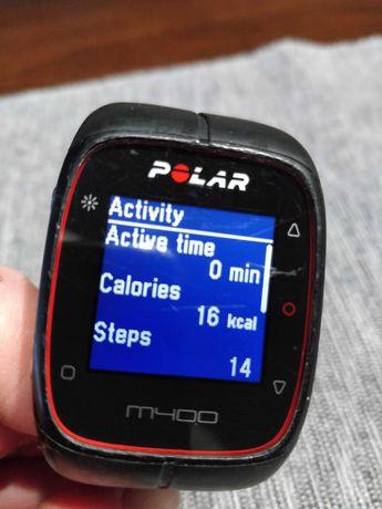 Polar m400 Smartwatch zegarek sportowy czarny bieganie