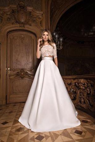 Продам стильное свадебное платье с карманами LITE BY DOMINISS