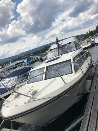 Scand 26 - Łódź motorowa kabinowa, motorówka rekreacyjna, houseboat