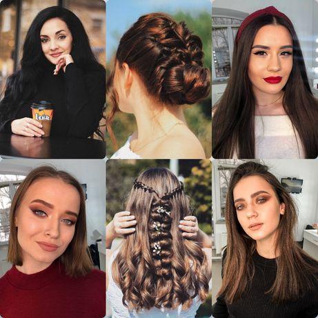 Зачіска-макіяж, причёска,макияж, парикмахер, перукар,визажист, візажис