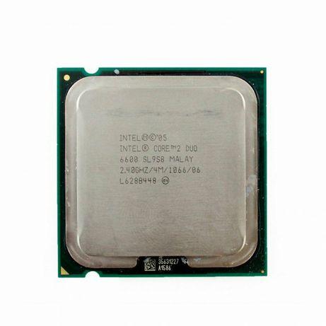 Intel core 2 duo e6600 2.4 s775