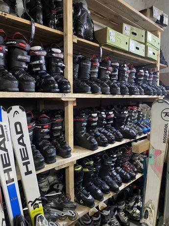 Гірськолижні ботінки/черевики Head, Solomon, Fisher,Nordika