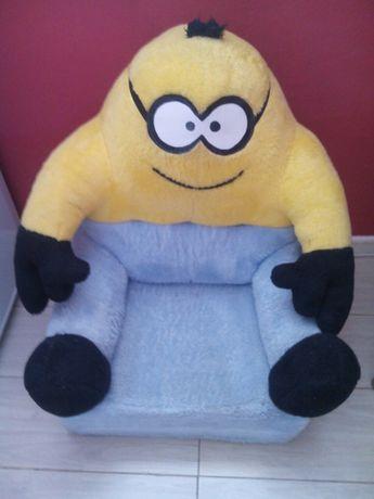 Fotel rozkładany łóżko MINIONEK