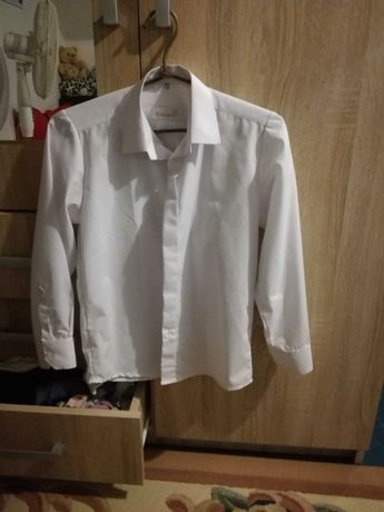 Koszula galowa/komunijna 140 cm