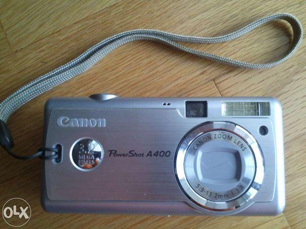 Máquina fotográfica canon power shot a400 - avariada