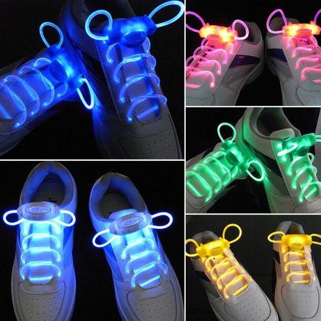 Светящиеся шнурки для детей