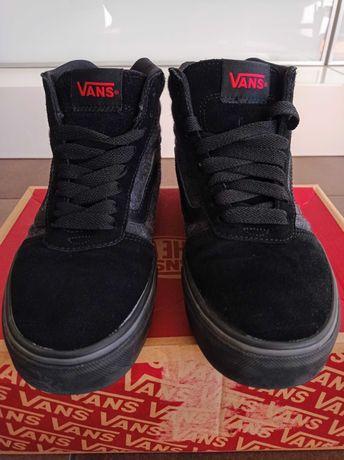 Novos! Tênis bota VANS pretos