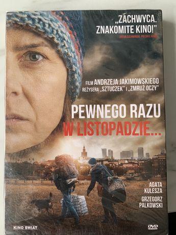 """Polski film """"Pewnego dnia w listopadzie"""" dvd"""