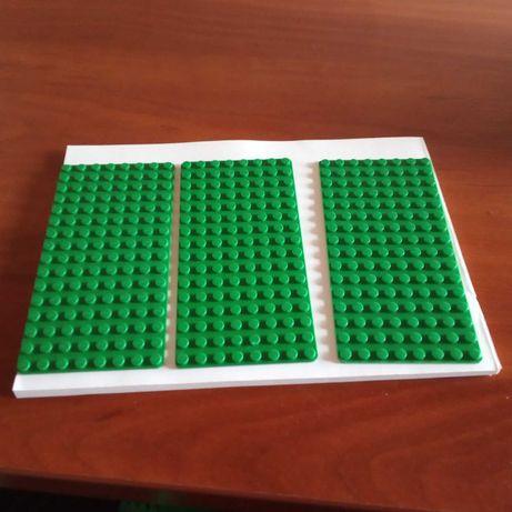 LEGO płytki konstrukcyjne X3 zielone