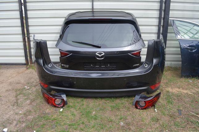 Mazda CX 5 2017-2020 крышка багажника, бампер задний, фонари