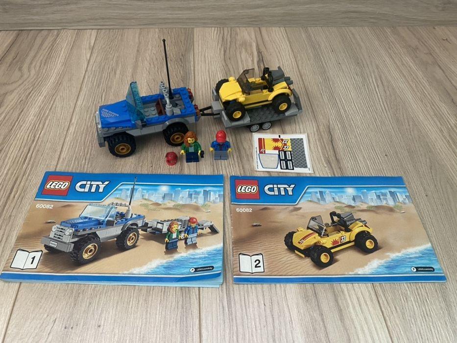 Lego City 60082 terenówka z przyczepą oraz buggy jak nowy czyt. opis Częstochowa - image 1