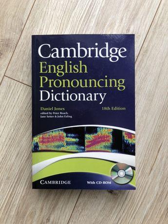 Cambridge Pronouncing Dictionary