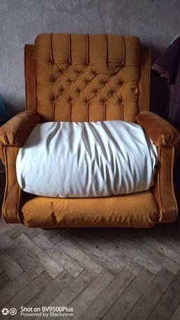 Fotel na kółkach PRL(do renowacji)