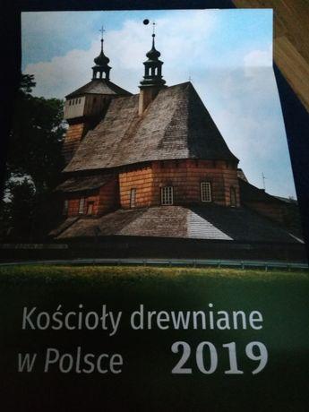 KALENDARZ 2019 Kościoły drewniane w Polsce( 2 szt)