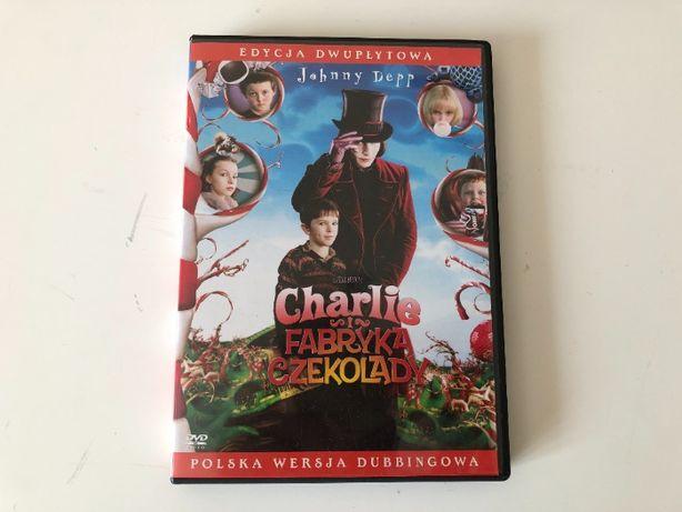 Film Charlie i fabryka czekolady wydanie dwypłytowe (2DVD) Johnny Depp