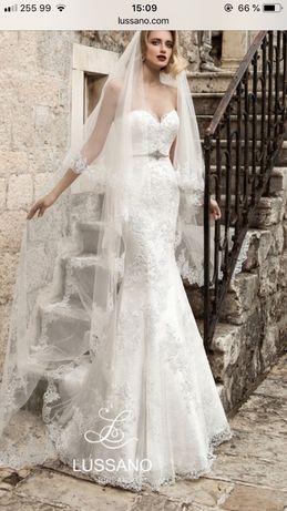 Свадебное платье брендовое Lussano Meribelle