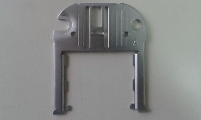 Chapa de agulha máquina costura Singer