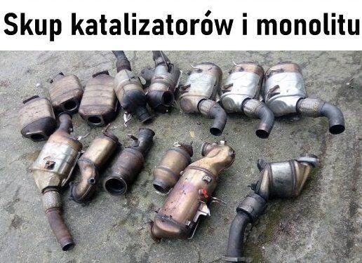 Skup katalizatorów i monolitu Kraków, Tarnów, Gorlice, Nowy Targ, Gdów
