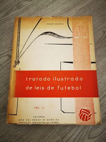 Livro - Tratado ilustrado de Leis de Futebol