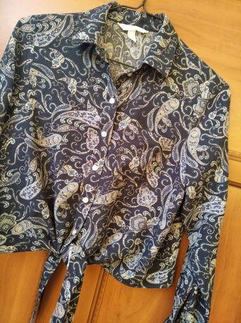 Koszula wiązana H&M