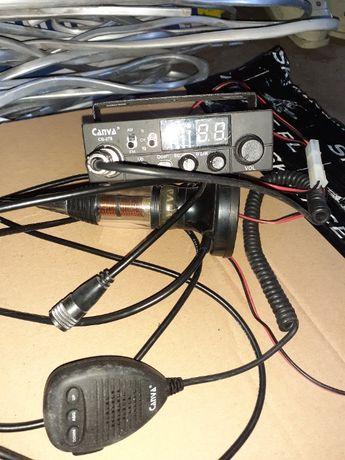 CB RADIO CANVA 278 +antena