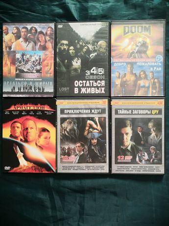 Продаю ДВД диски с зарубежными  фильмами и сериалами(2)