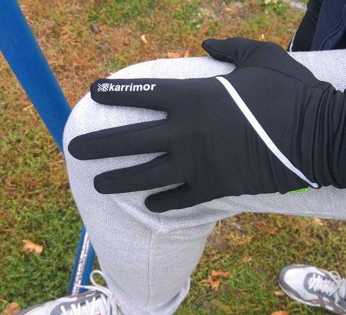 Лучшая цена! Перчатки для бега Karrimor Run Gloves беговые, спортивные
