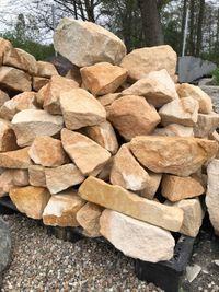 piaskowiec żółty, kamień murowy dziki, kamień ogrodowy