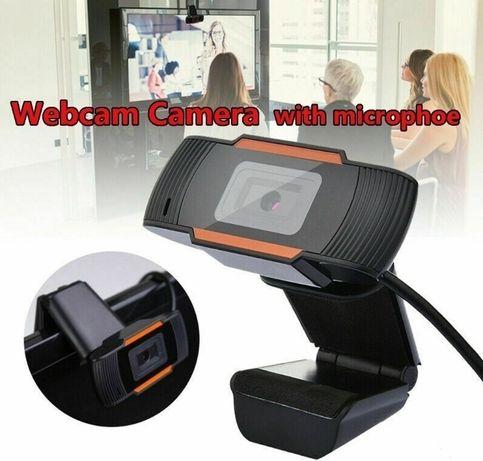 Nova webcam 2020 com microfone e câmera periférica