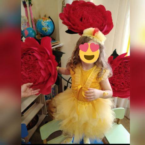 Детский костюм солнышко цыплёнок для девочки